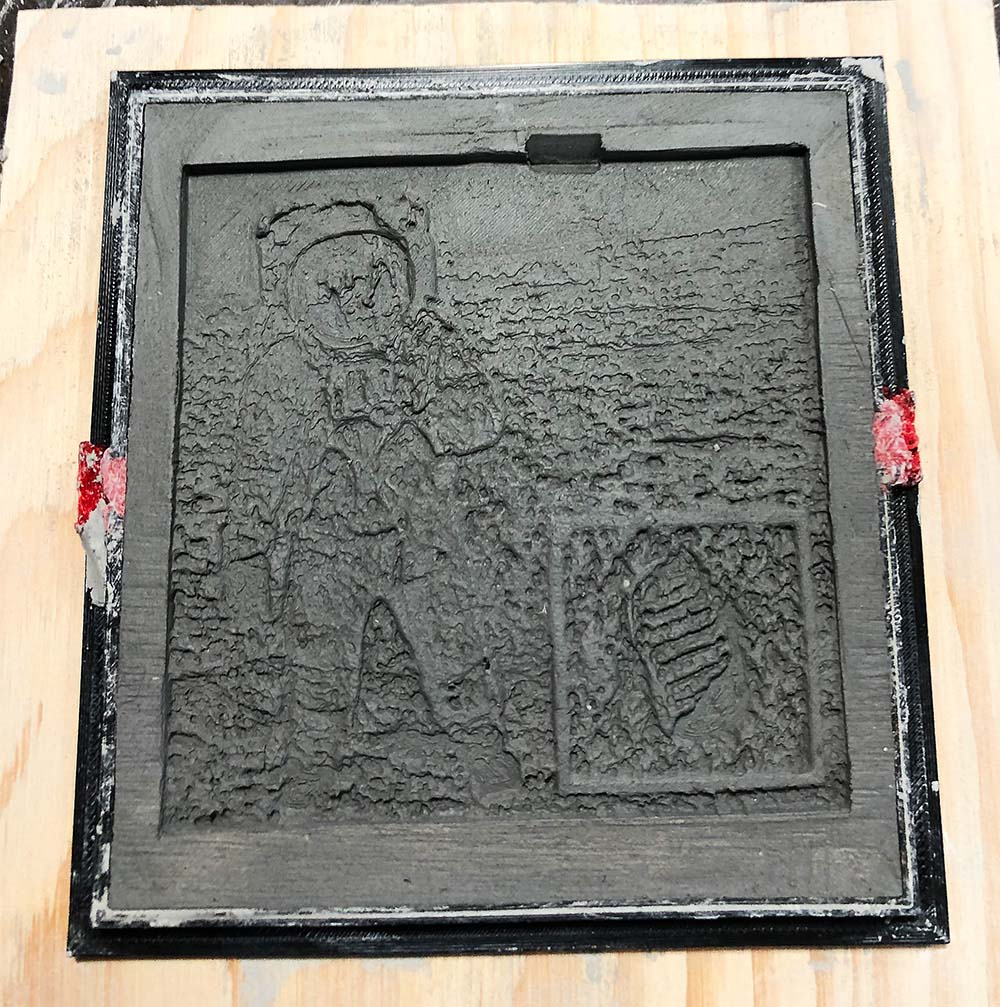 Apollo 11 Wet Tile Mold