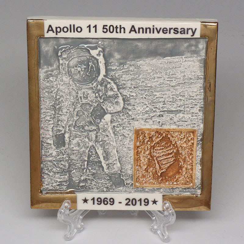 Apollo 11 50th Anniversary Commemorative Tile #17