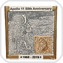 Apollo 11 50th Anniversary Commemorative Tiles