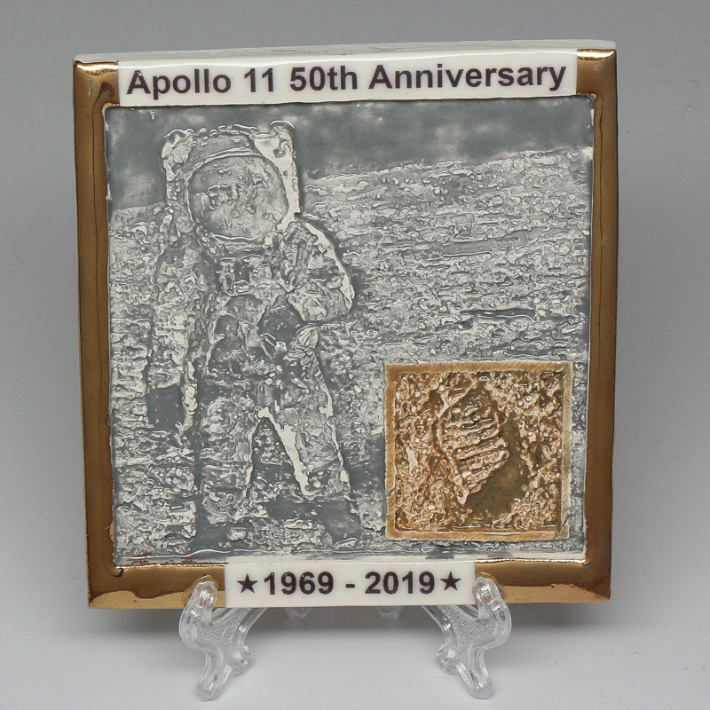 Apollo 11 50th Anniversary Commemorative Tile