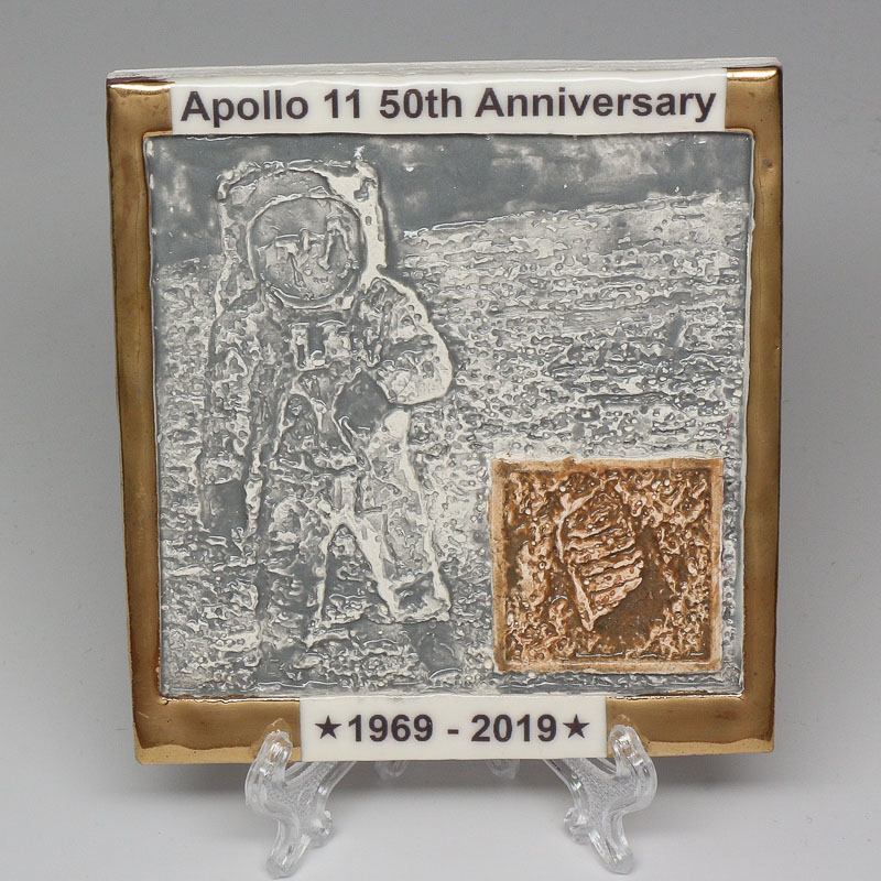 Apollo 11 50th Anniversary Commemorative Tile #10