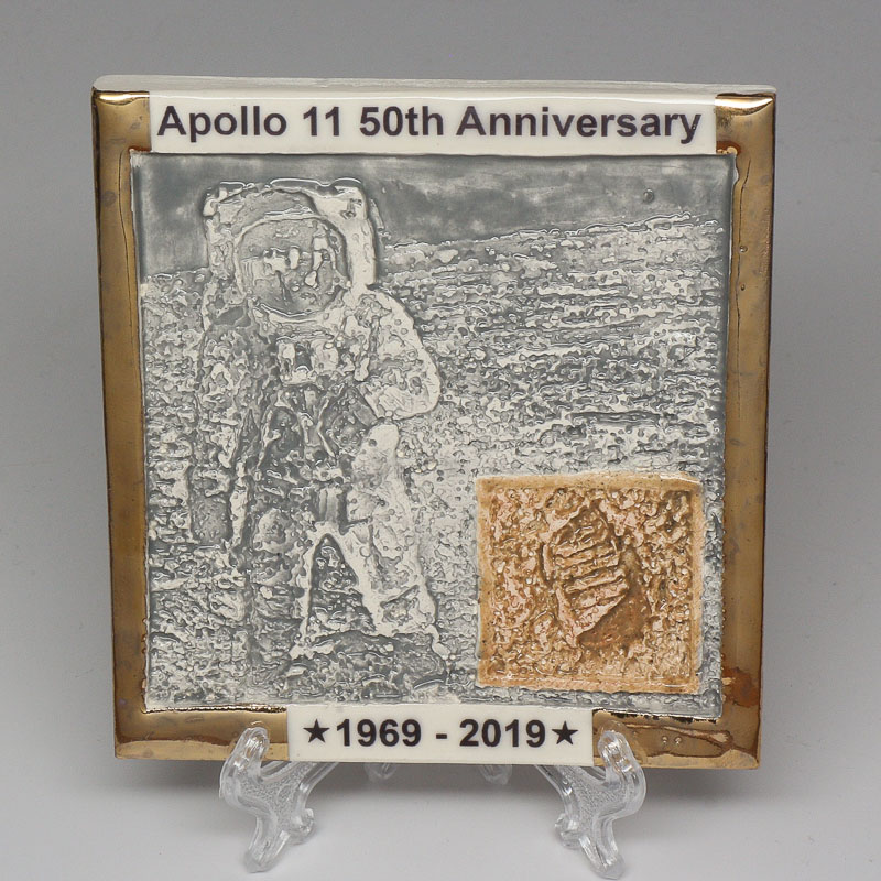 Apollo 11 50th Anniversary Commemorative Tile #11