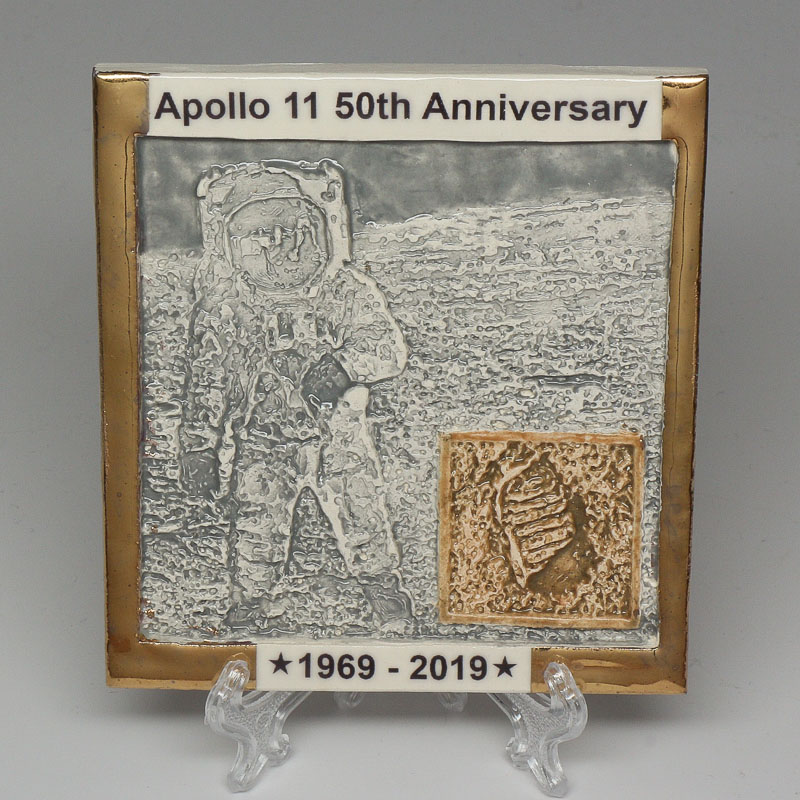 Apollo 11 50th Anniversary Commemorative Tile #12