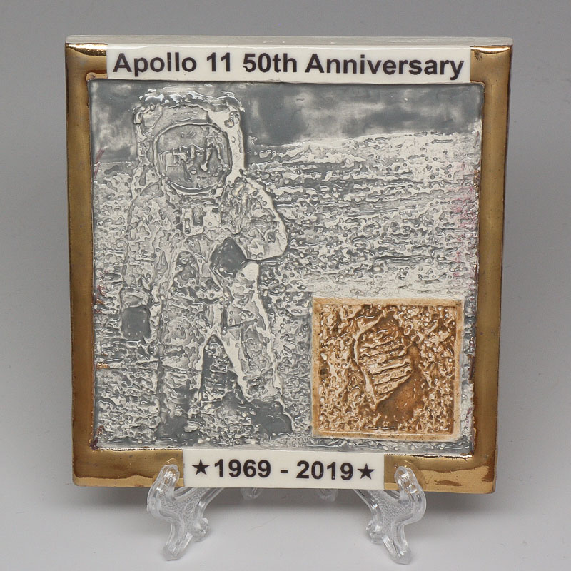 Apollo 11 50th Anniversary Commemorative Tile #14