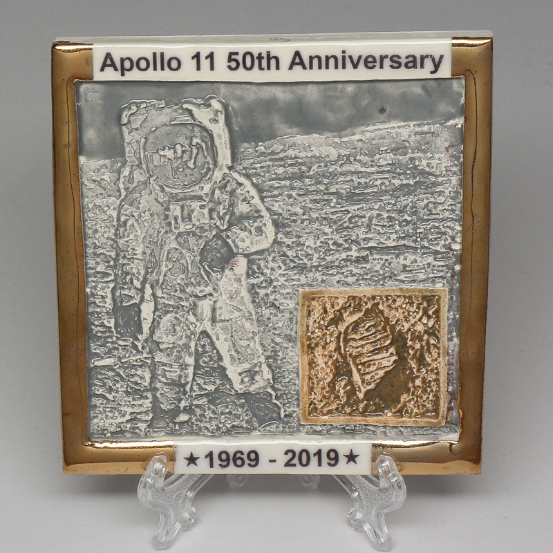 Apollo 11 50th Anniversary Commemorative Tile #2