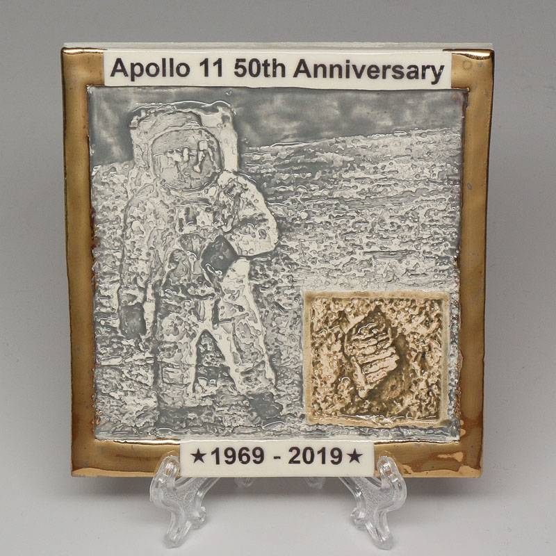 Apollo 11 50th Anniversary Commemorative Tile #20