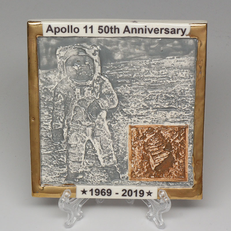 Apollo 11 50th Anniversary Commemorative Tile #24