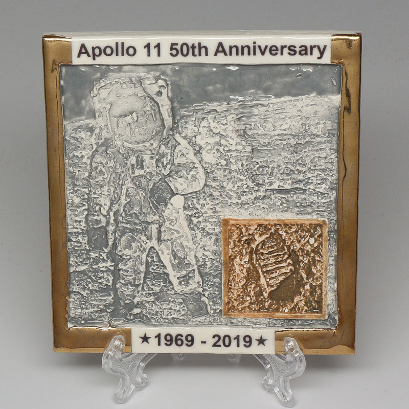 Apollo 11 50th Anniversary Commemorative Tile #26