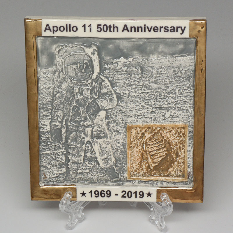 Apollo 11 50th Anniversary Commemorative Tile #27