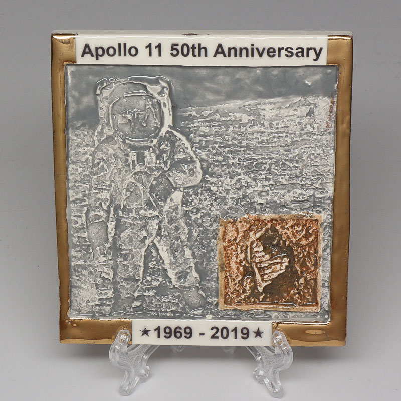 Apollo 11 50th Anniversary Commemorative Tile #28