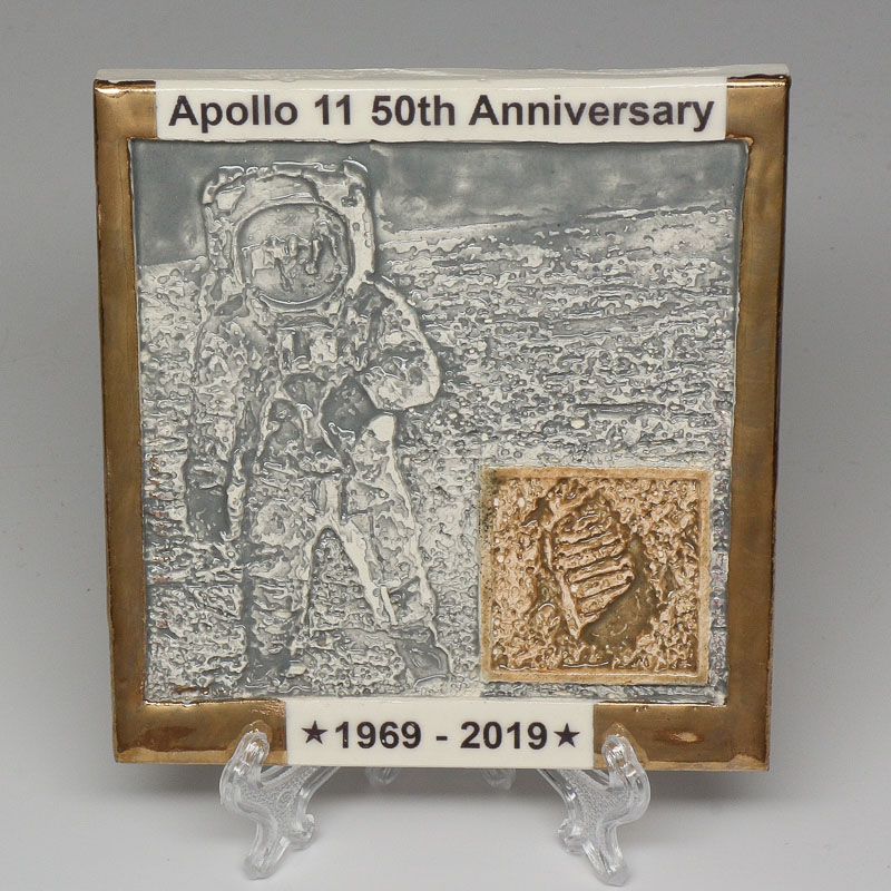 Apollo 11 50th Anniversary Commemorative Tile #30