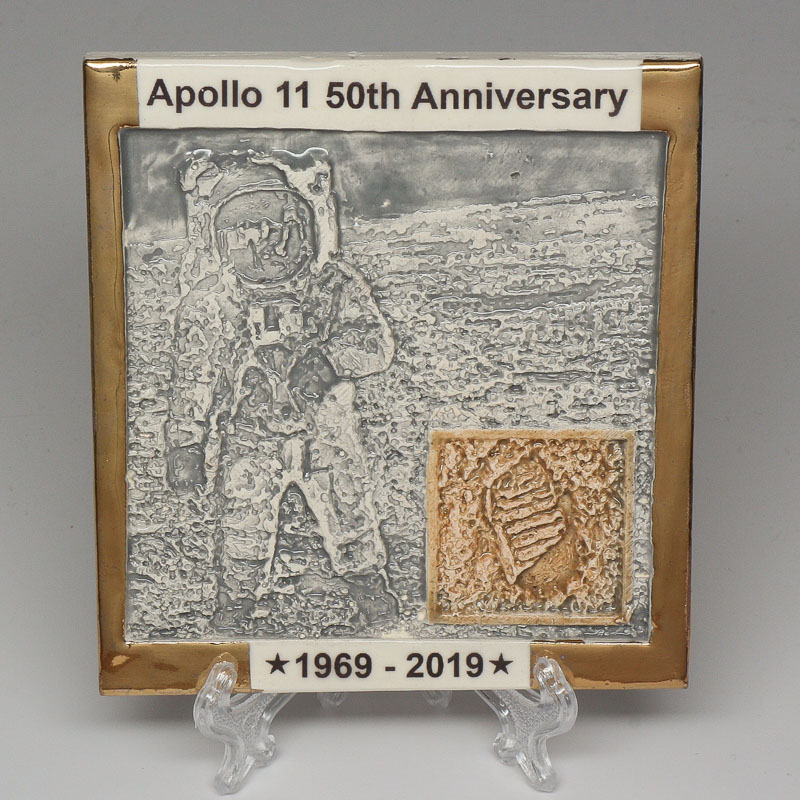 Apollo 11 50th Anniversary Commemorative Tile #33