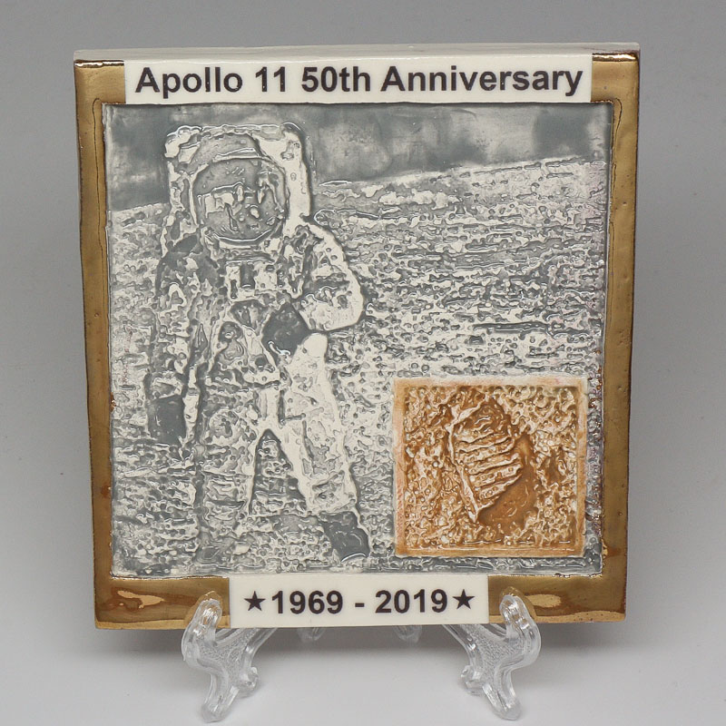 Apollo 11 50th Anniversary Commemorative Tile #34