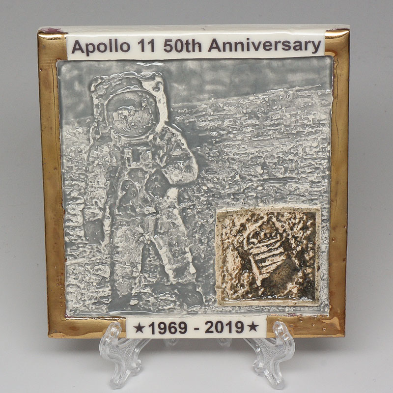 Apollo 11 50th Anniversary Commemorative Tile #37
