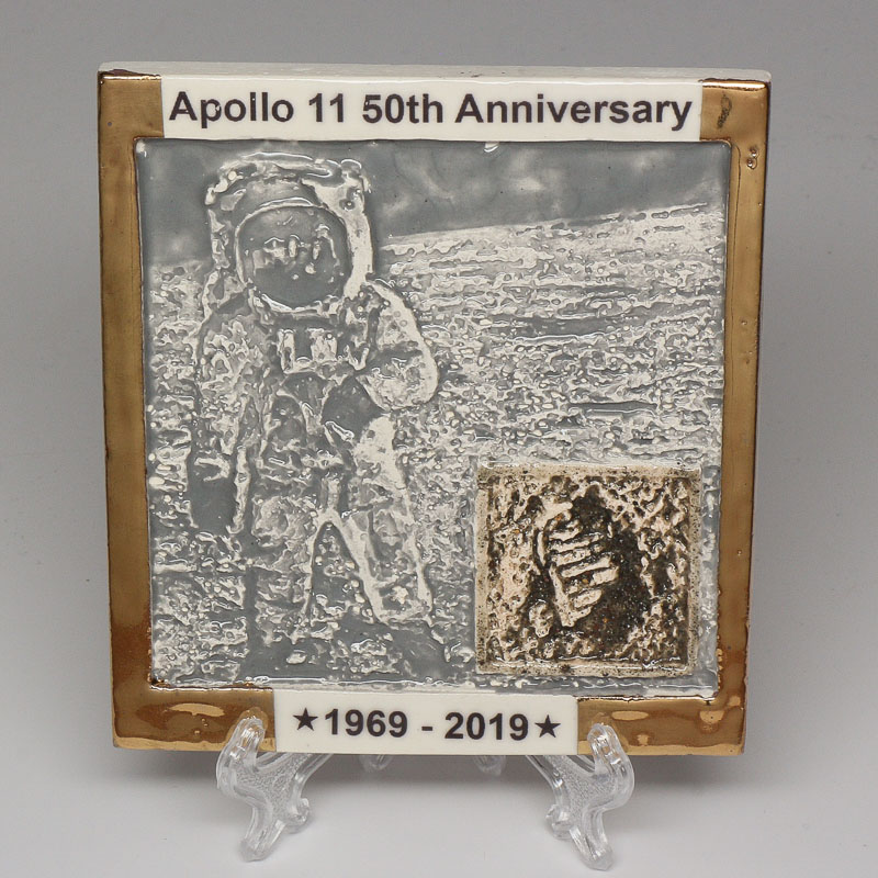 Apollo 11 50th Anniversary Commemorative Tile #38