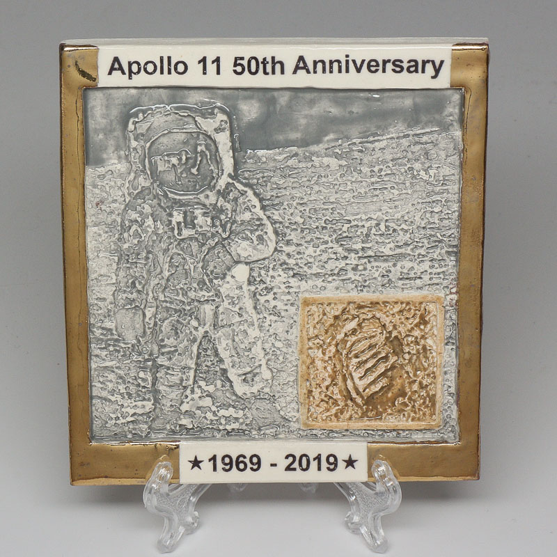 Apollo 11 50th Anniversary Commemorative Tile #39