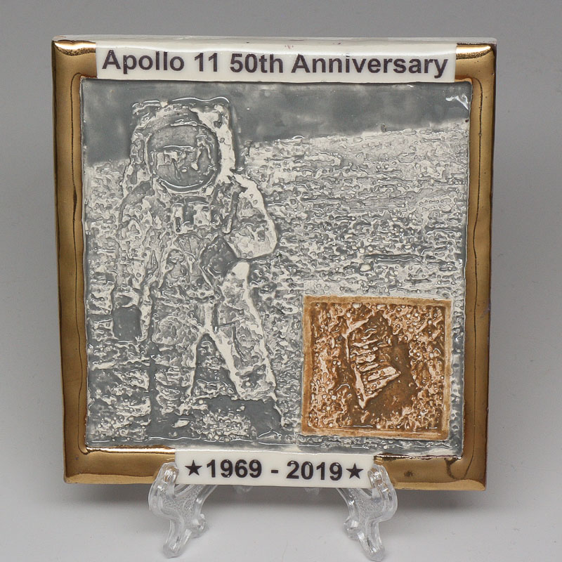 Apollo 11 50th Anniversary Commemorative Tile #4