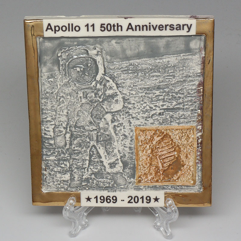 Apollo 11 50th Anniversary Commemorative Tile #41