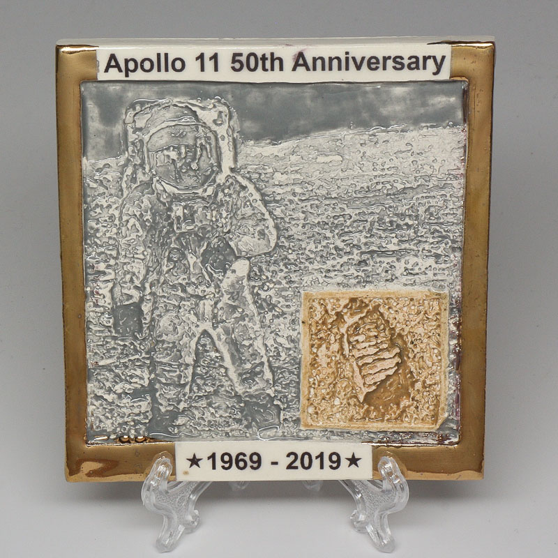 Apollo 11 50th Anniversary Commemorative Tile #42