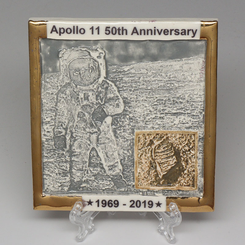 Apollo 11 50th Anniversary Commemorative Tile #44