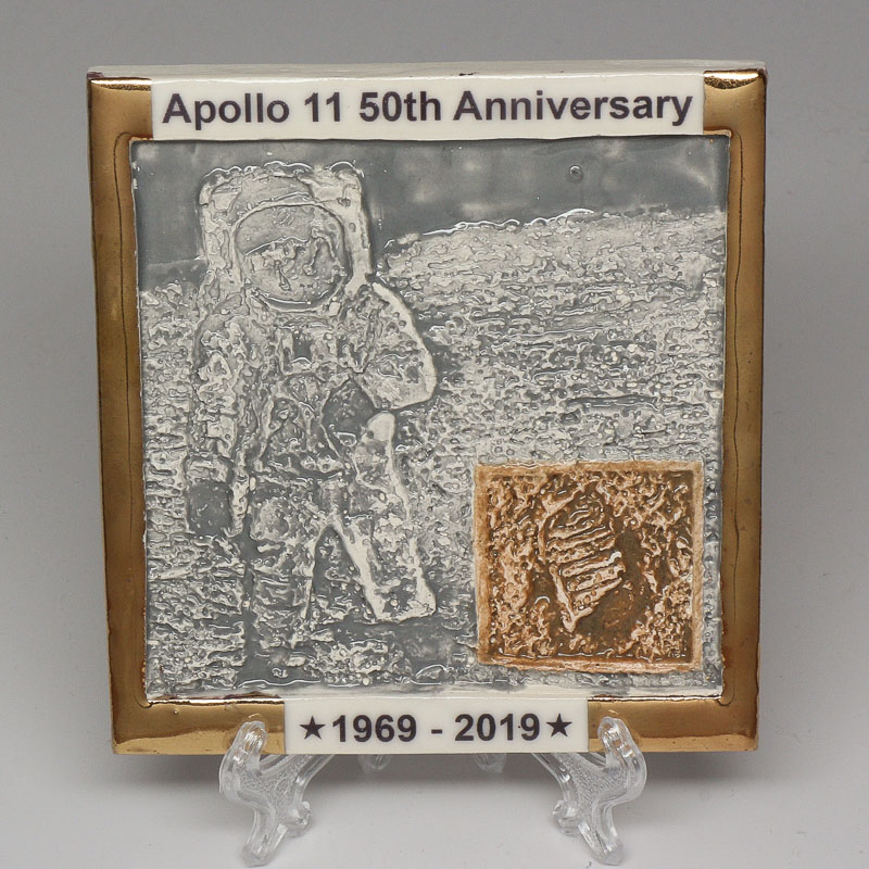 Apollo 11 50th Anniversary Commemorative Tile #5