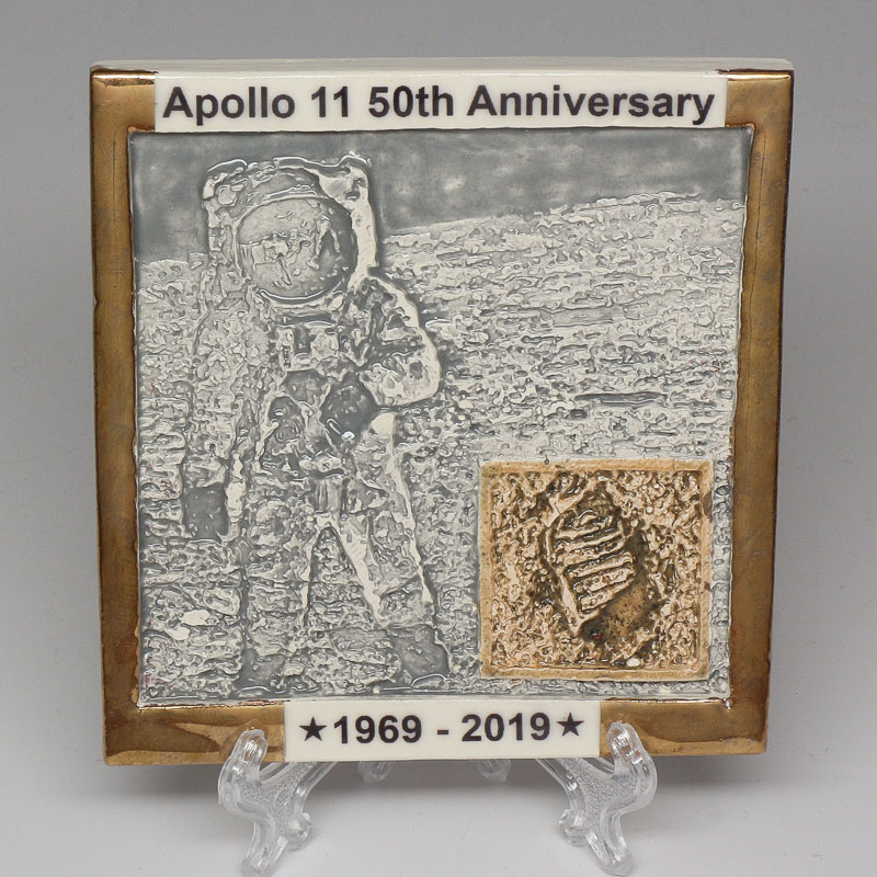 Apollo 11 50th Anniversary Commemorative Tile #6