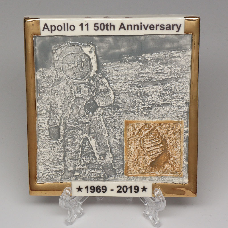 Apollo 11 50th Anniversary Commemorative Tile #7