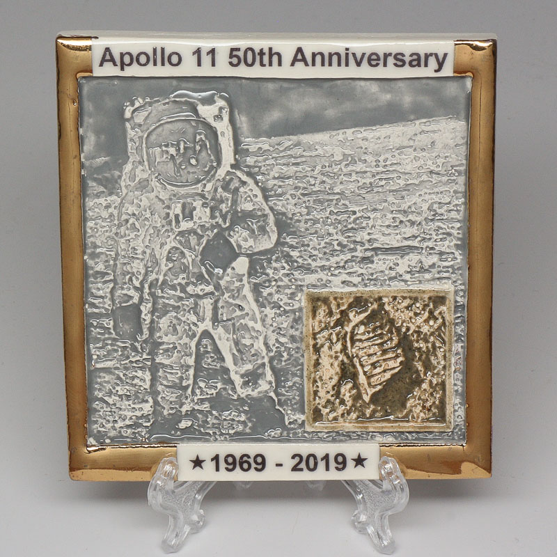 Apollo 11 50th Anniversary Commemorative Tile #8